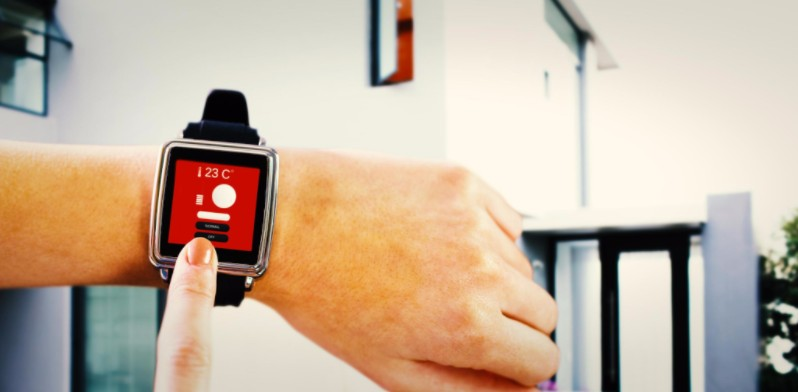 Smart watch controlling air conditioning: Richmond's Energy Savings Blog
