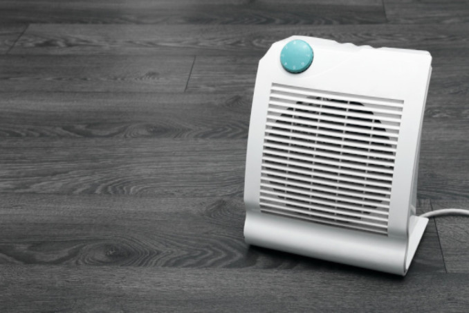Small electric heater on floor: Richmond's Air Indoor Comfort Systems Blog