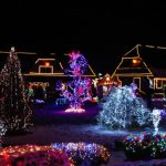 House decorated with lights for Christmas: Richmonds Energy Savings Blog