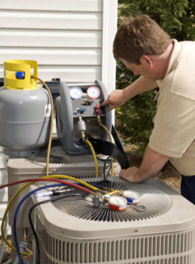 reasons water leaks from an A/C unit